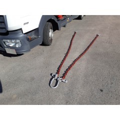 Elingue chaine 2 brins D13 mm Long 3m