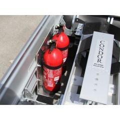Support coffre extincteur 2 kg