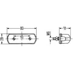 Eclaireur de plaque / coffret / boitier